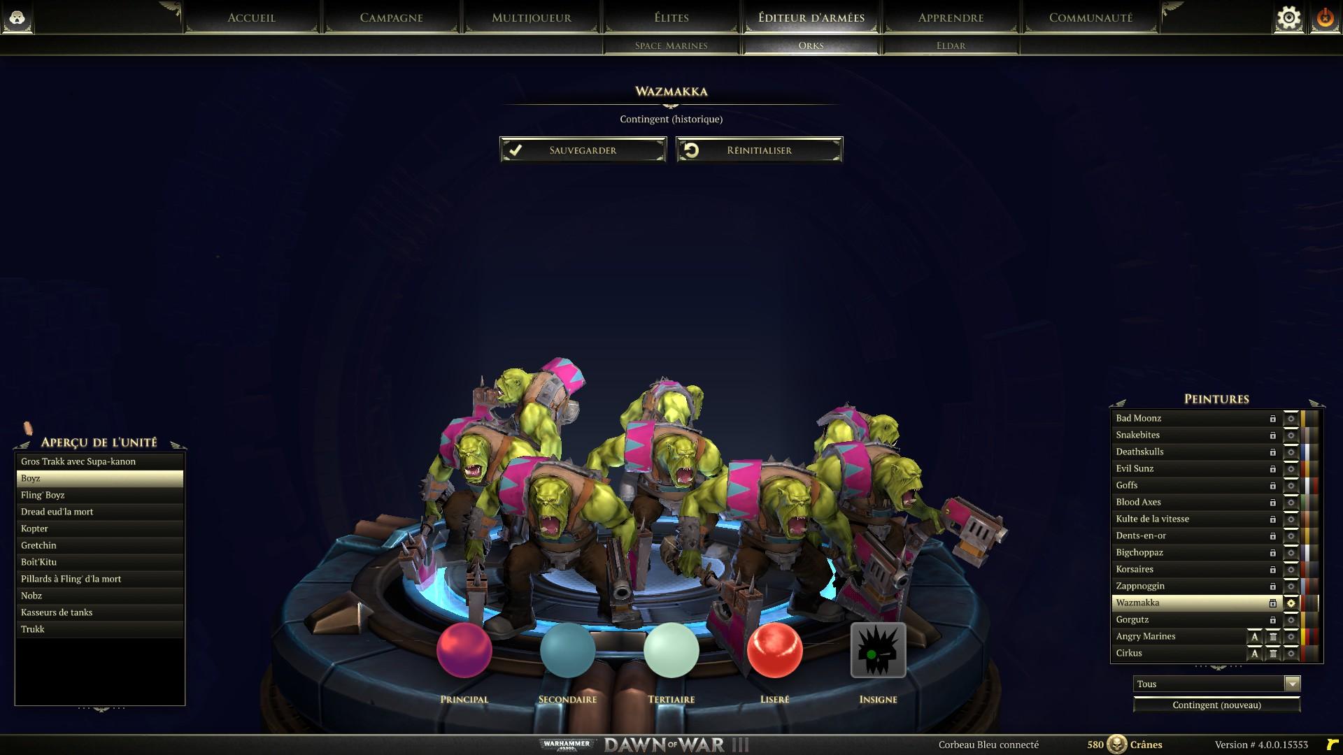 l'unité de matchmaking de vapeur