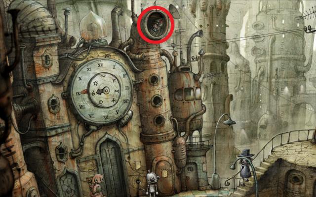 mysterious turban robot