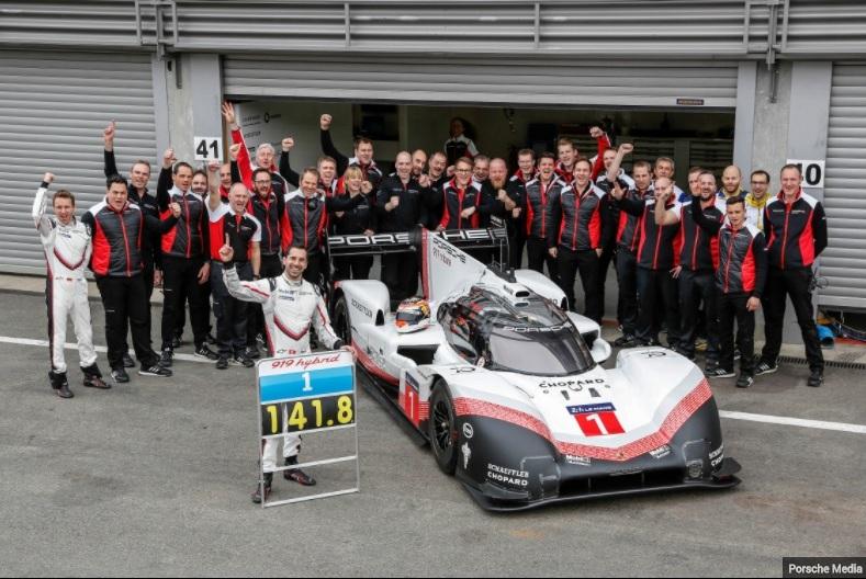 Porsche fait tomber le record du tour à Francorchamps 0d6c4a7a51d3437872725b2764f41840