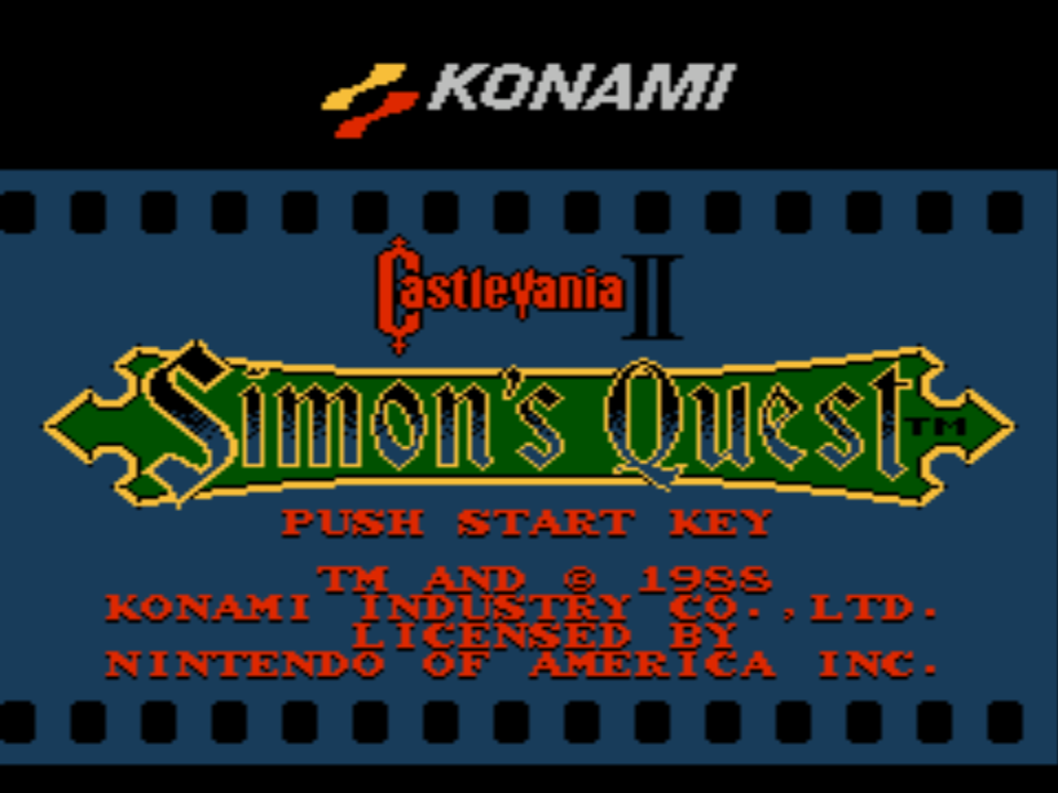Castlevania 2 Simon's Quest