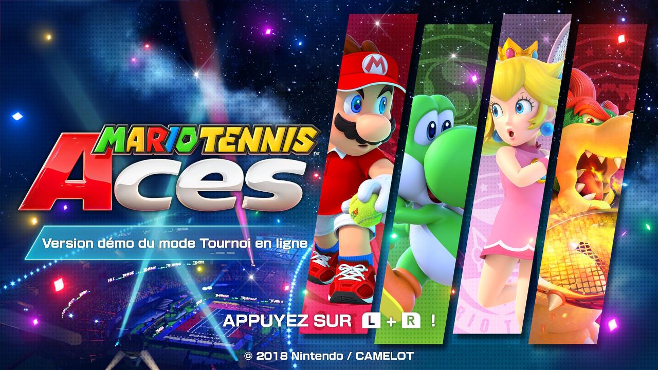 Mario Tennis Aces débarque sur Switch!!