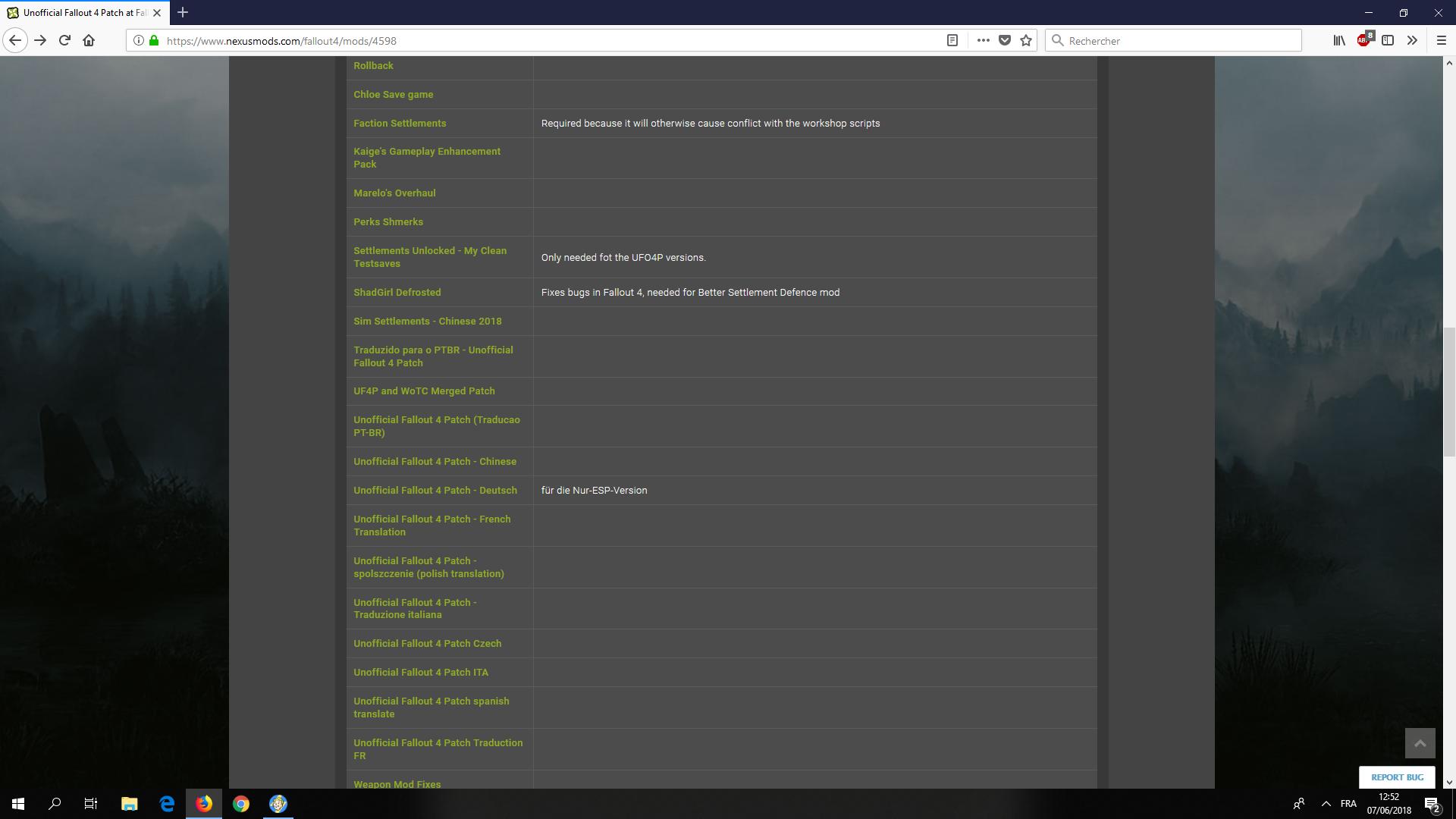 Fallout 4 Les Mods Post Apo [Archives] - Page 4 - Canardpc com