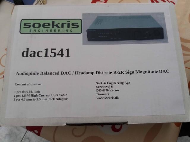 VENDU] DAC Soekris 1541 R2R