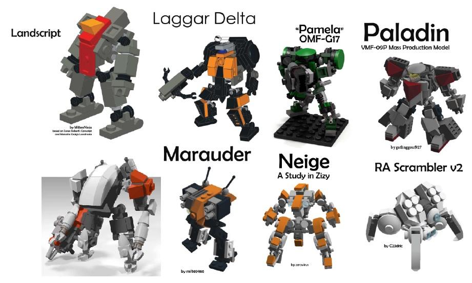 [Figurines en Lego] Mobile Frame Zero F362c7414dcccee16fe01a6d571af728